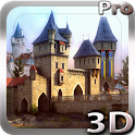 Castle 3D Pro live wallpaper icon