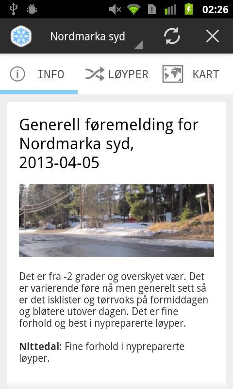 Markaguiden- screenshot