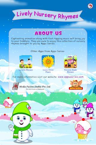 【免費教育App】Lively Nursery Rhymes-APP點子