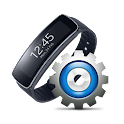 Gear Fit Quick Settings icon