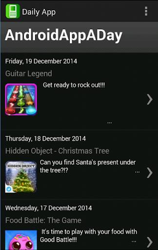 Free Daily App