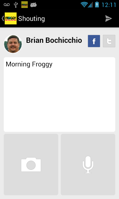 FROGGY RADIO - screenshot