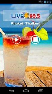 PHUKET LIVE 89.5- screenshot thumbnail