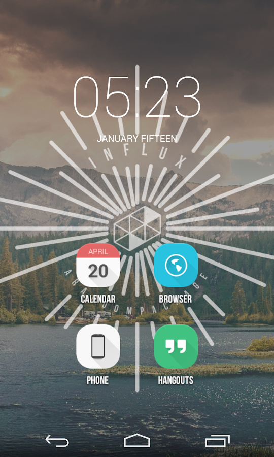 Influx Icon Pack (DEMO) - screenshot