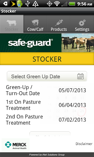 Safe-Guard Pasture Cattle App