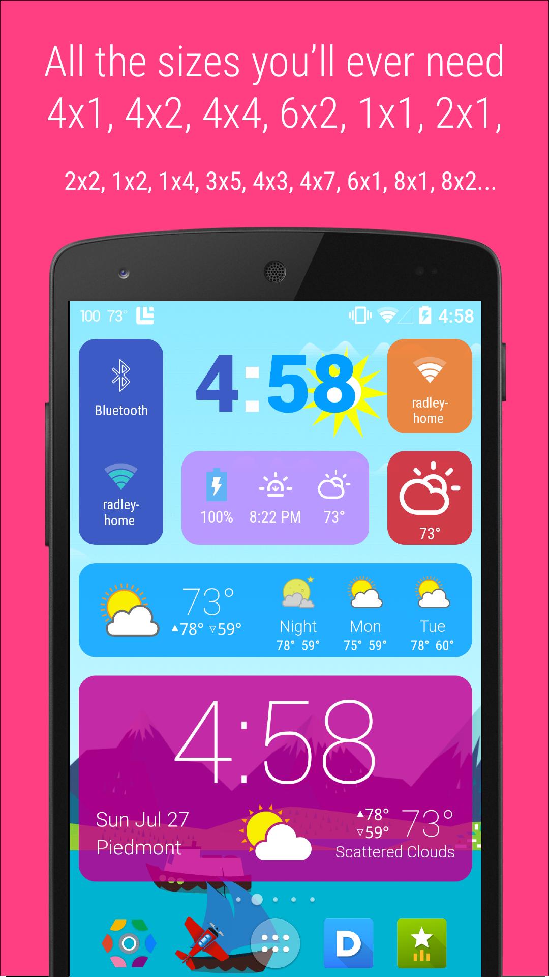 HD Widgets screenshot #3
