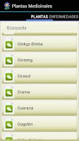 Screenshot of Plantas Medicinales