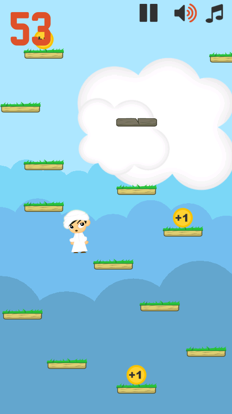 Mansour jump - screenshot