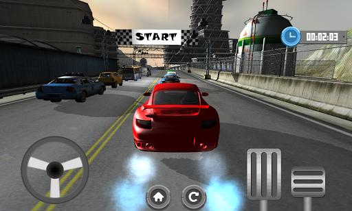 汽車速度賽車3D驅動