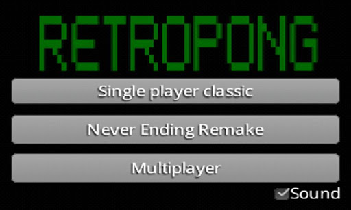 RetroPong 5players multiplayer