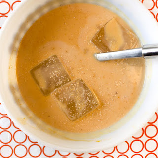 Pumpkin Punch with Cinnamon-Infused Rum.