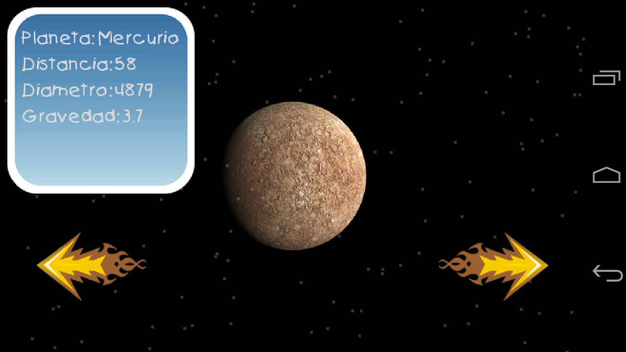 Solar system for kids- screenshot