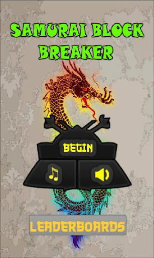 Samurai Block Breaker Ninja
