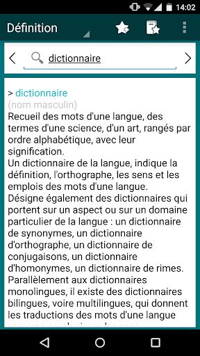 French Explanatory Dictionary