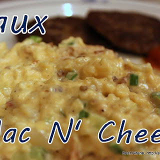 Low Carb Faux Mac N' Cheese (IF).