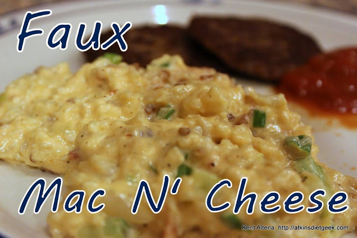Low Carb Faux Mac N' Cheese (if) Recipe