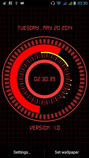 玩免費個人化APP|下載Animated Digital Clock Free app不用錢|硬是要APP