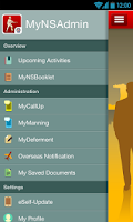 Screenshot of MyNSAdmin
