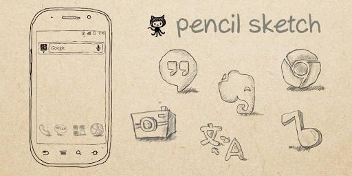 Pencil Sketch Launcher