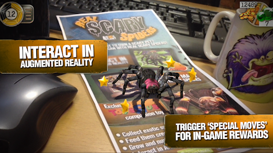Real Scary Spiders Apk + Data