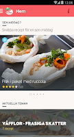Screenshot of Arla Köket recept