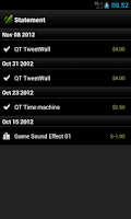 Screenshot of nWallet powered by Envato API