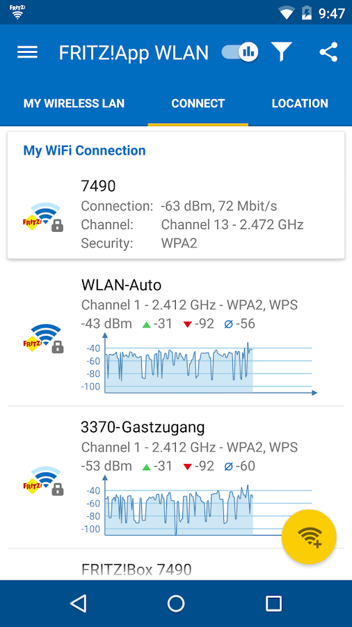 FRITZ!App WLAN- screenshot