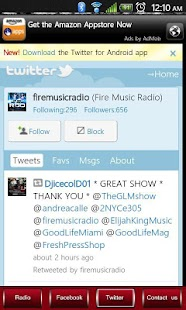 Fire Music Radio - screenshot thumbnail