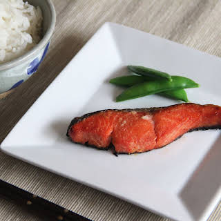 Grilled Miso Salmon.