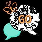 GO SMS THEME/TealOrange