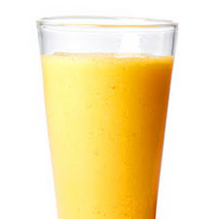 Apple, Carrot, and Ginger Smoothie.