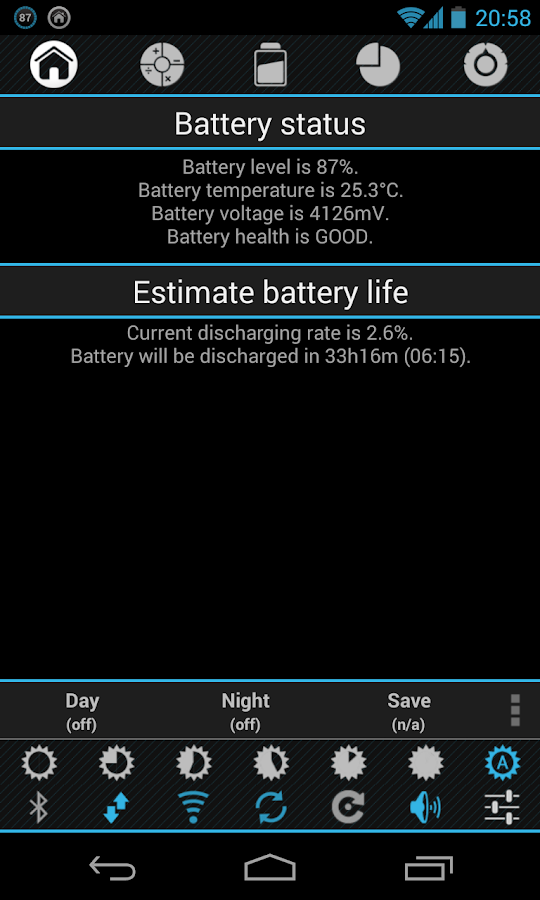 Battery Drain Analyzer FREE- screenshot