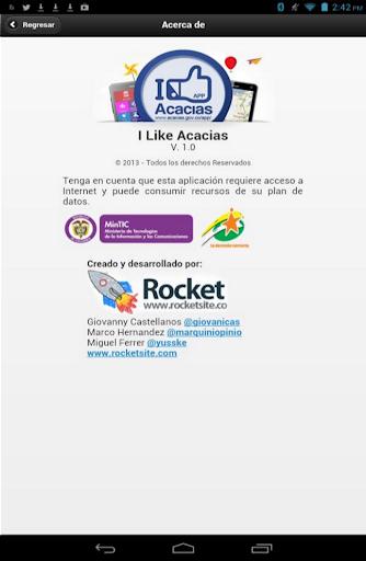 【免費旅遊App】I LIKE ACACÍAS-APP點子