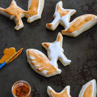 Sour Cream-Nutmeg Sugar Cookies.