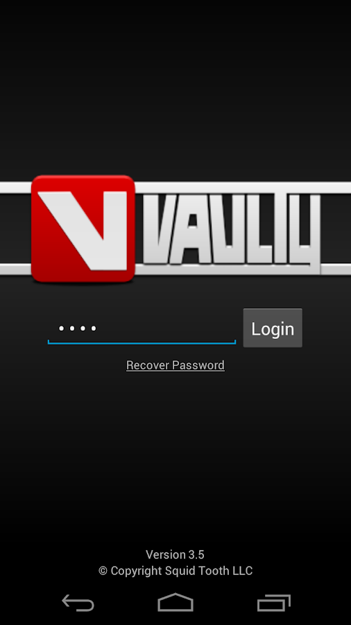 Hide Pictures in Vaulty - screenshot