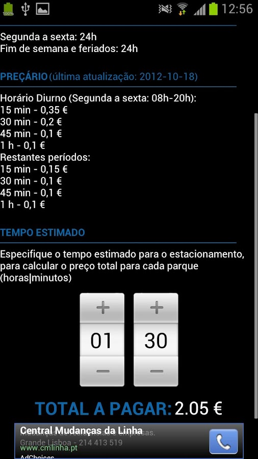 ParkMe | Parque Estacionamento - screenshot