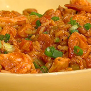 John Besh's Shrimp, Chicken, and Andouille Jambalaya