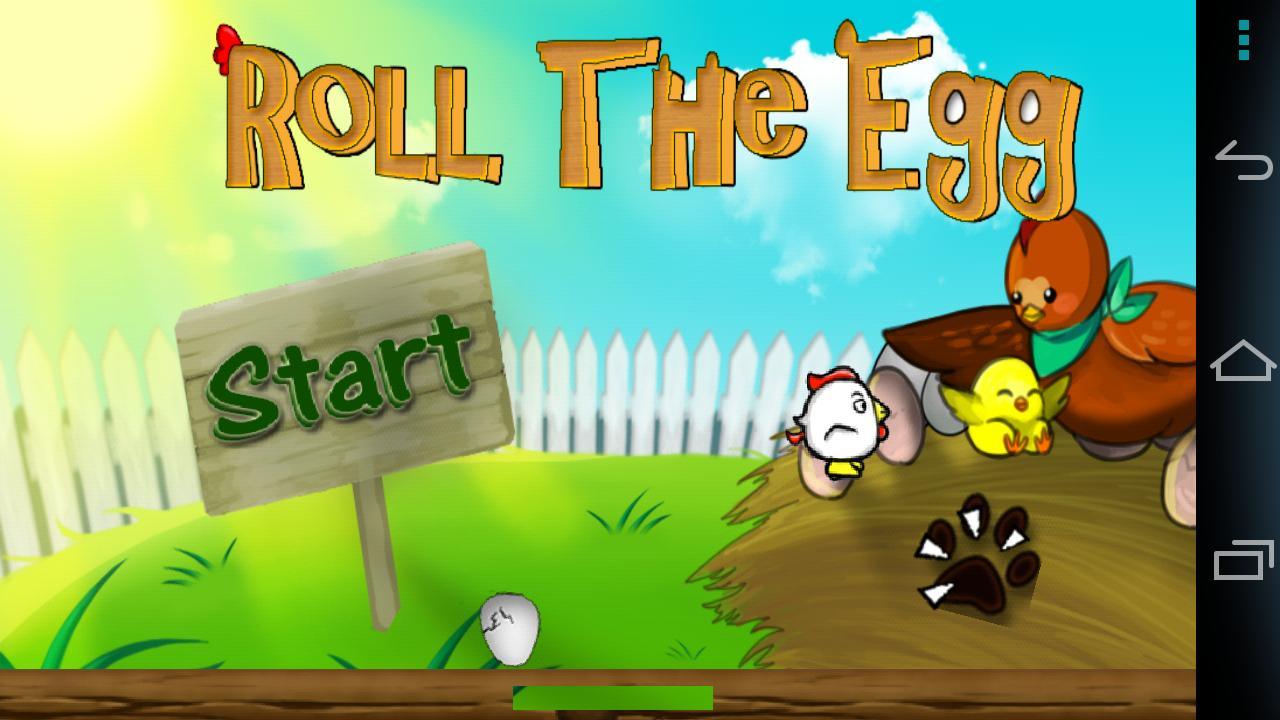 Roll the EGG!- screenshot