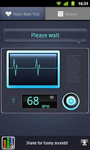 Heart Rate Tester- screenshot thumbnail