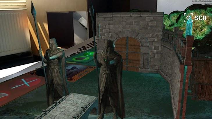 Cmoar AR RPG screenshot