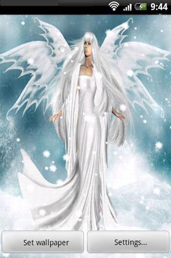 3D Angel Live Wallpaper