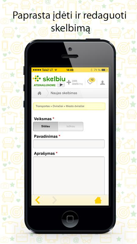 Skelbiu.lt - screenshot