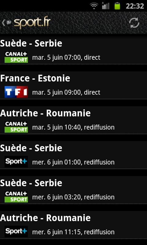 Euro 2012 foot- screenshot