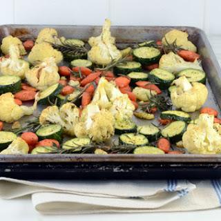 Roasted Cauliflower Carrots, and Zucchini Recipe