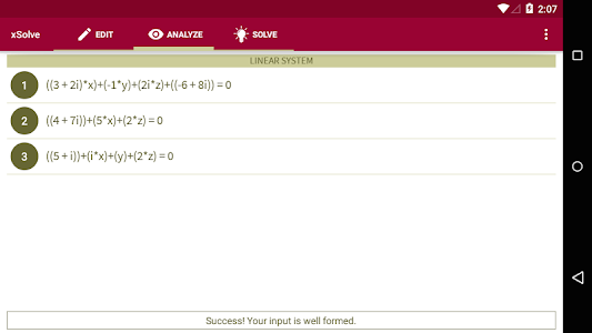xSolve - Equation Solver screenshot 3