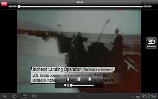 Screenshot of Arirang TV for Tablets