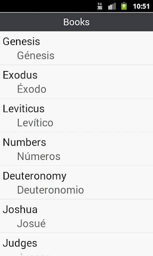 BIBLE SPANISH ENGLISH