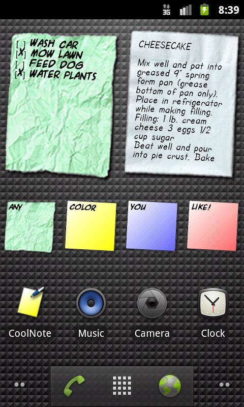 CoolNote Free- screenshot
