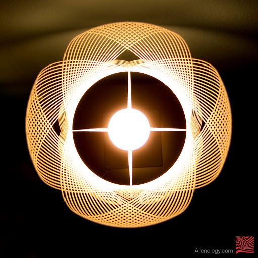 Clothoid.A lamp