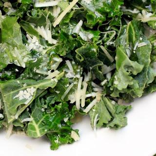 Garlic Parmesan Kale Salad